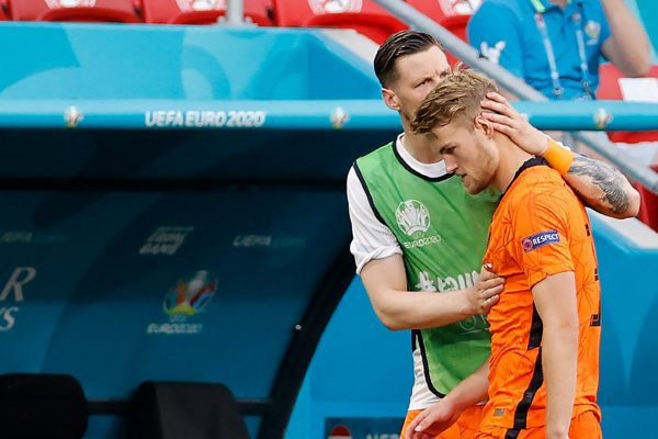Matthijs de Ligt has admitted to being eliminated at Euro 2020