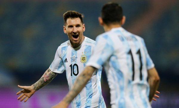 Argentina beats Ecuador 3-0 in Copa America