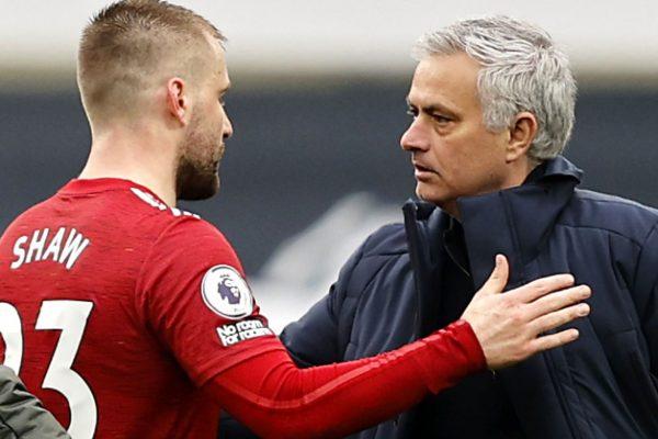 Luke Shaw urges Mourinho to move on